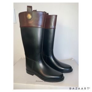Banana Republic Women Rain Boots, Size 10